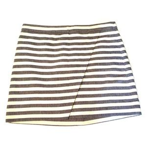 J. Crew striped Skirt